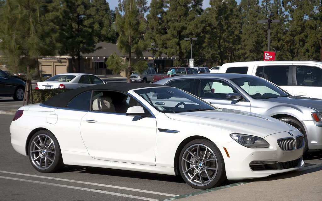 2014 Bmw 6 Series Convertible Partsopen