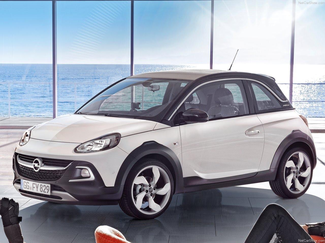 2014 Opel Adam Rocks Partsopen